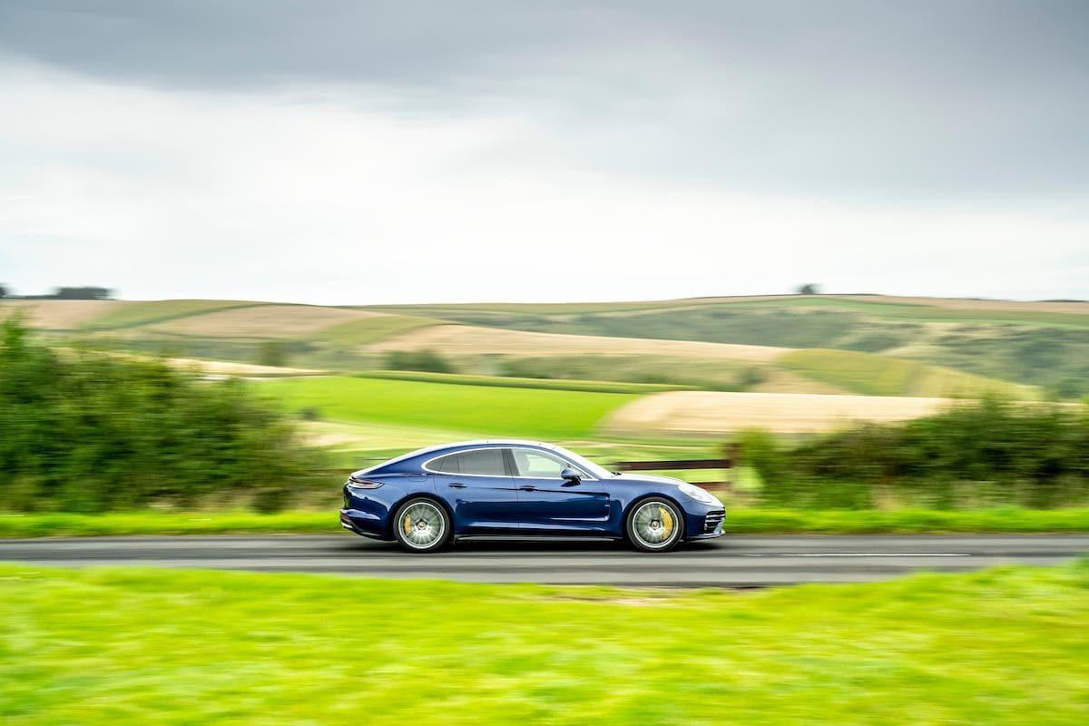 Porsche Panamera Turbo S road test – side profile