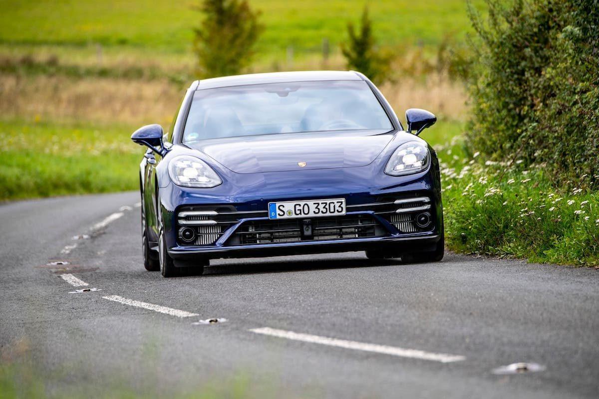 Porsche Panamera Turbo S road test – front