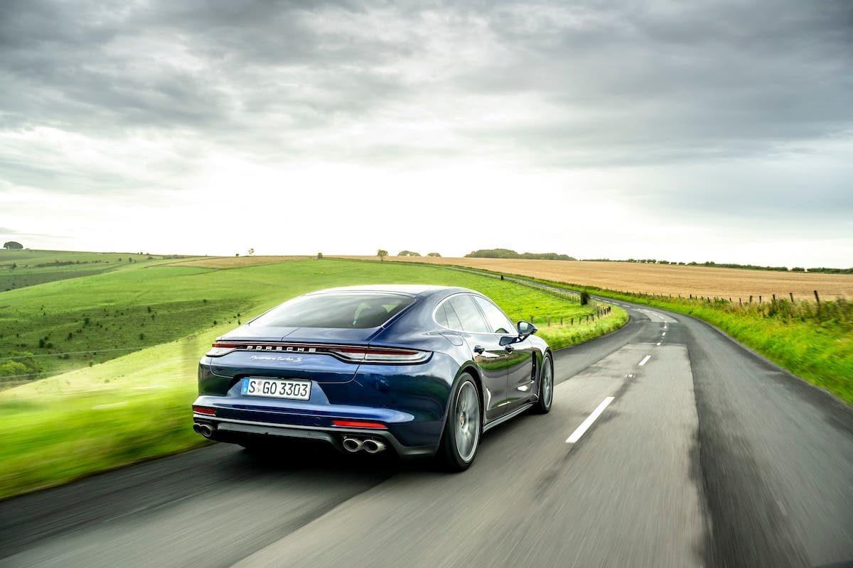 Porsche Panamera Turbo S road test – rear