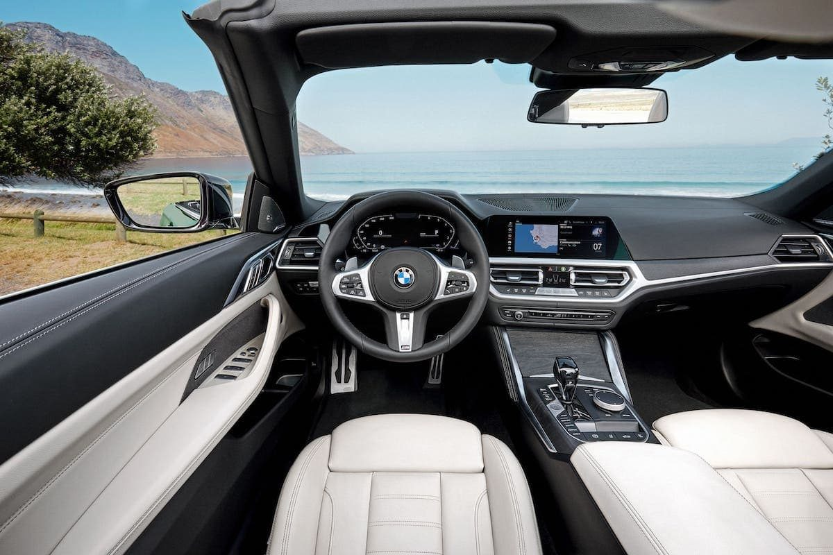 BMW 4 Series Convertible - interior and dashboard