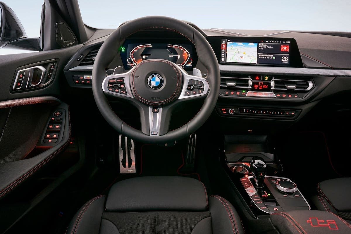 BMW 128ti - interior and dashboard