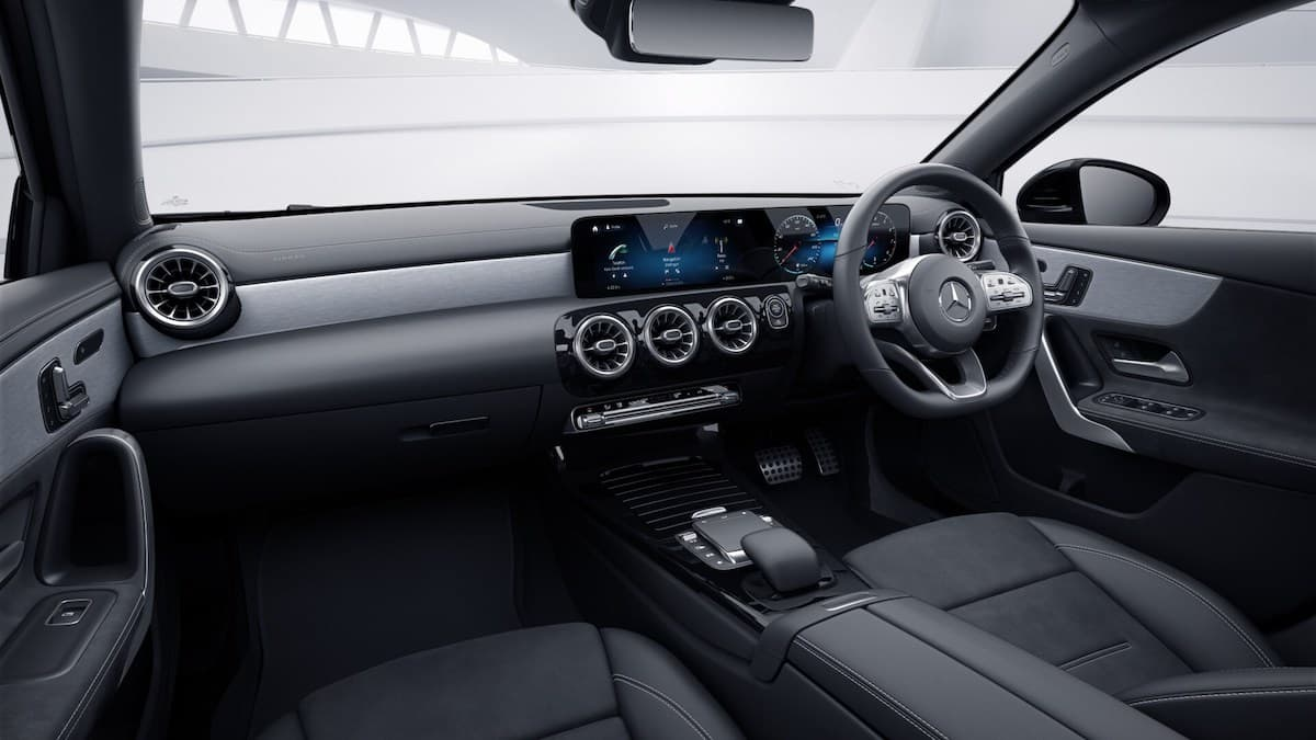 Mercedes-Benz A-Class Exclusive Edition - interior