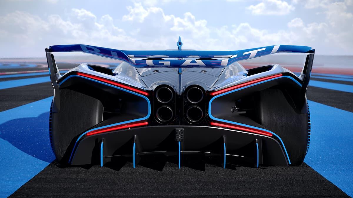 Bugatti Bolide - rear