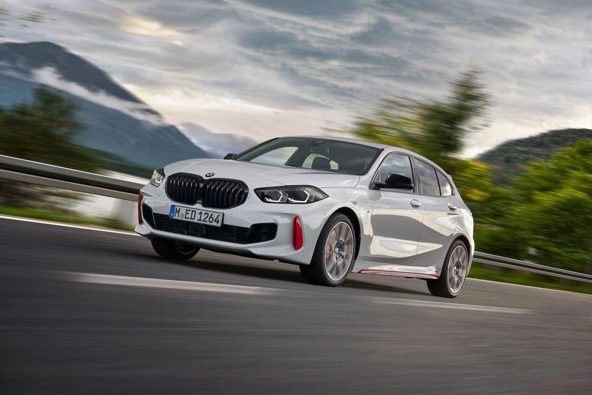 BMW 128ti - front