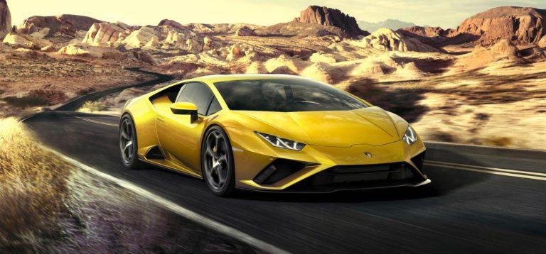 Lamborghini Huracan Evo RWD test drive
