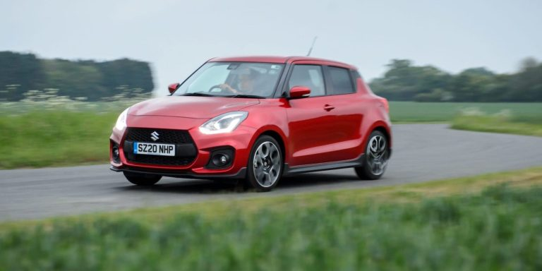 Suzuki Swift Sport Hybrid test drive