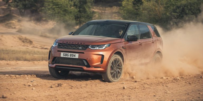 New engines for Discovery Sport and Evoque