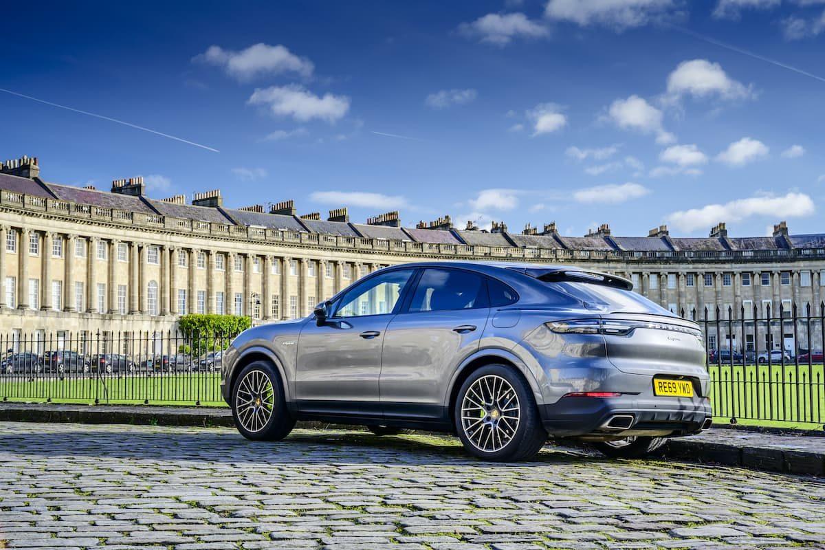Porsche Cayenne Coupé E-Hybrid review – rear