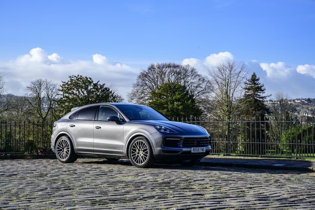 Porsche Cayenne Coupé E-Hybrid review – front