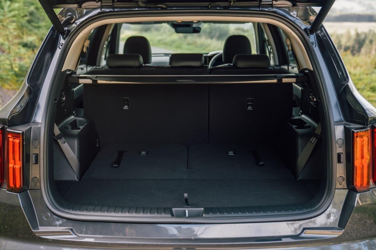 2020 Kia Sorento review - boot space