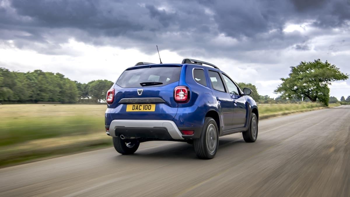 Dacia Duster Bi-Fuel road test - rear
