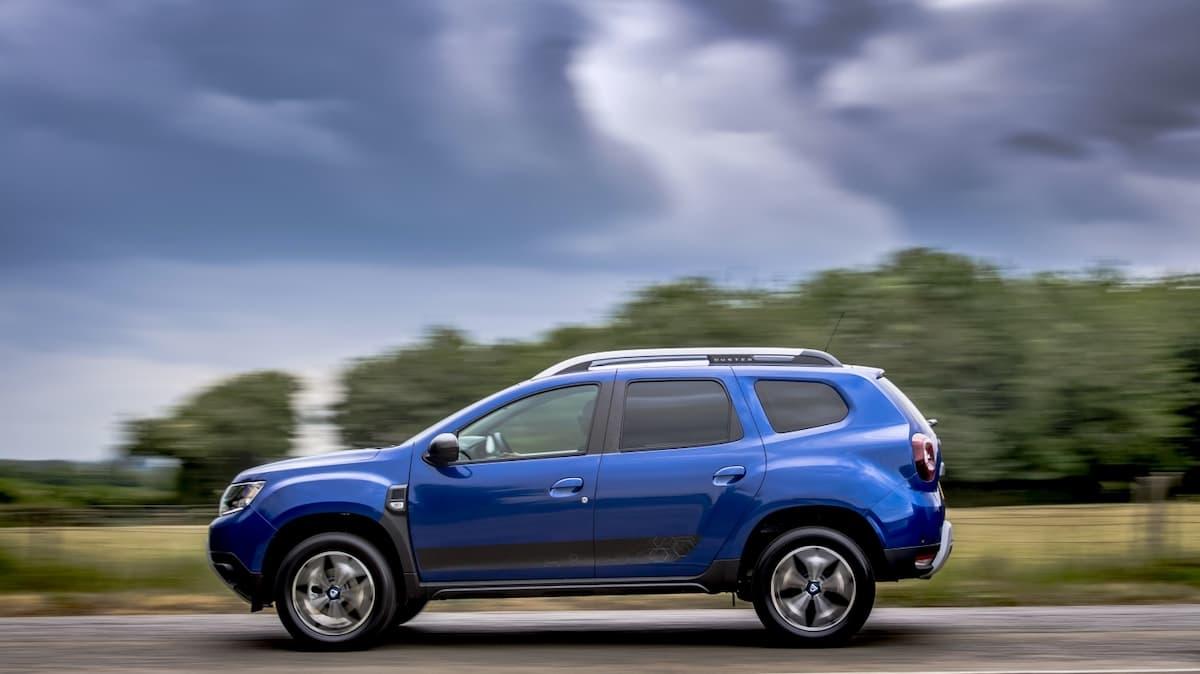 Dacia Duster Bi-Fuel road test - side profile