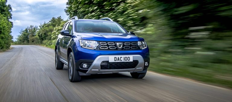 Dacia Duster Bi-Fuel test drive