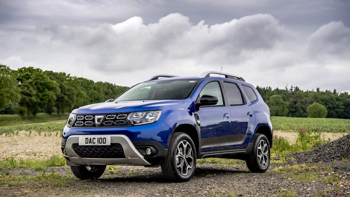 Dacia Duster Bi-Fuel review – front