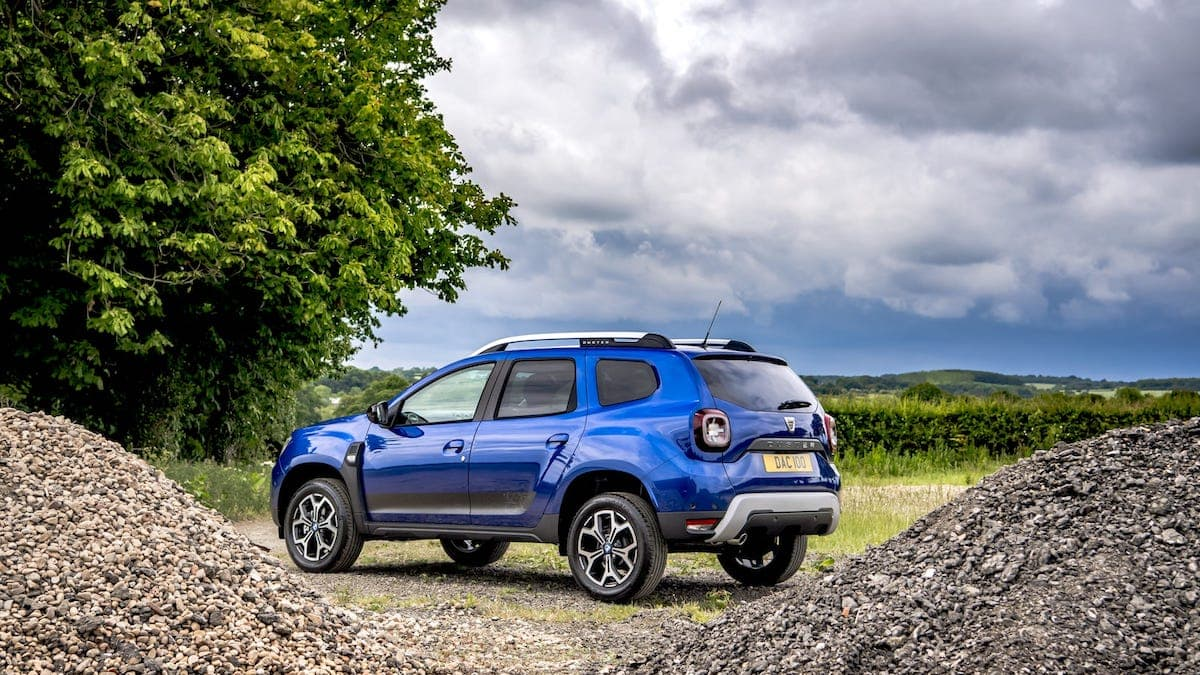 Dacia Duster Bi-Fuel review – rear