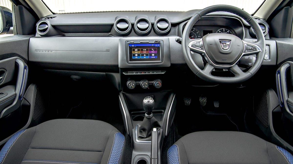 Dacia Duster Bi-Fuel review – dashboard