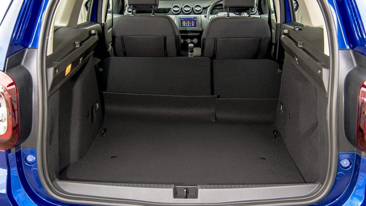 Dacia Duster Bi-Fuel review – boot space
