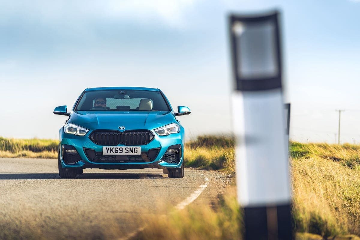 BMW 2 Series Gran Coupé road test – front