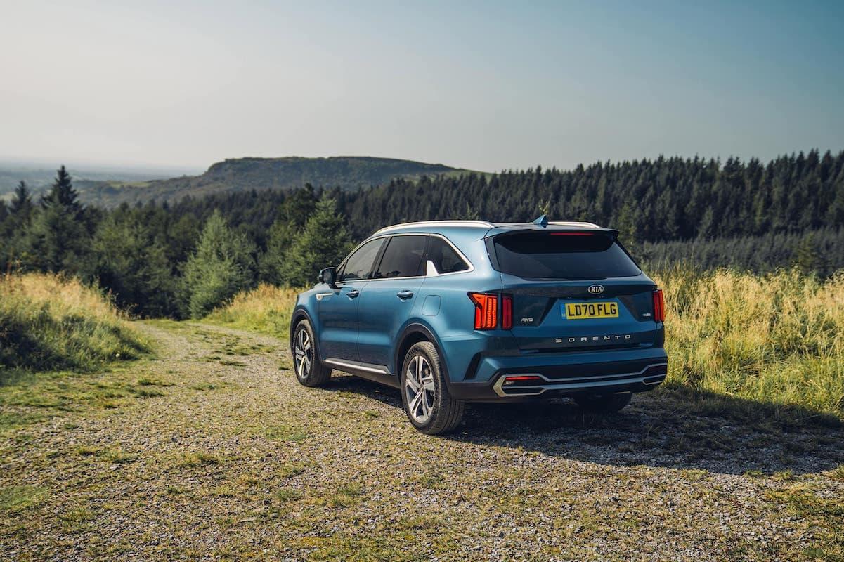 2020 Kia Sorento review - rear