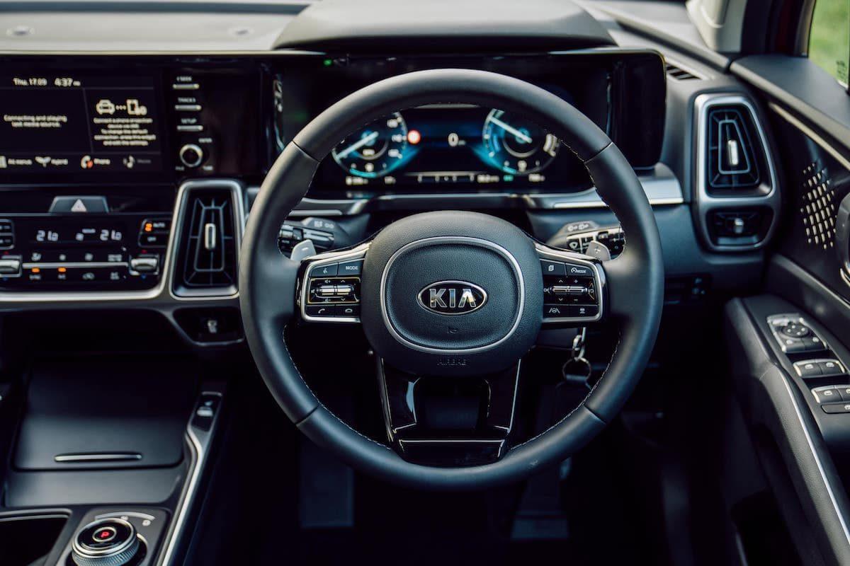2020 Kia Sorento review - dashboard