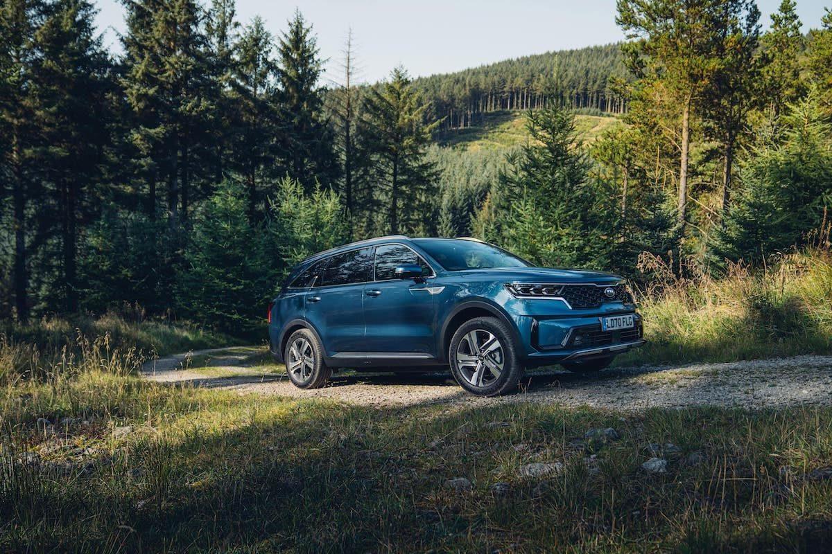 2020 Kia Sorento review - front