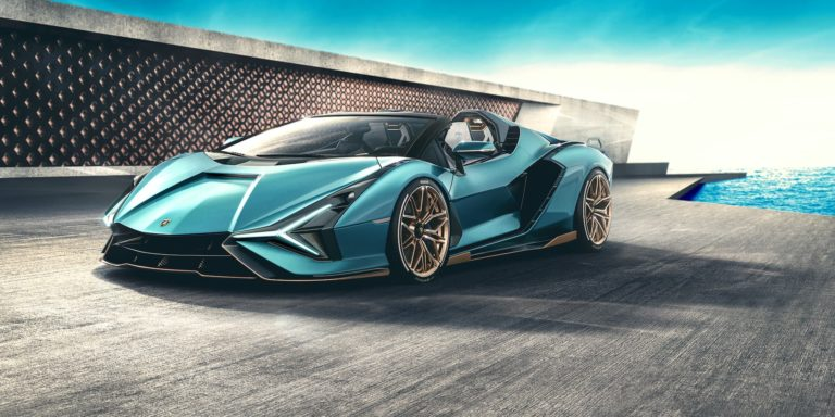Lamborghini reveals 820hp Sián Roadster