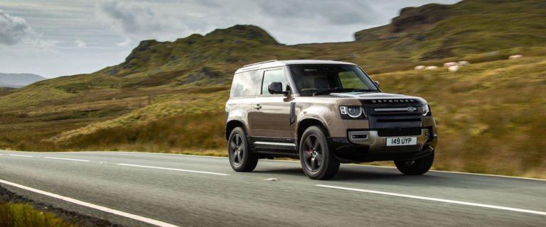 Land Rover Defender 90 test drive