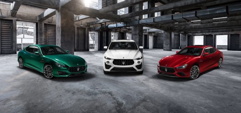 Maserati announces new Trofeo models