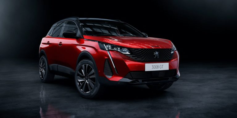 Peugeot 3008 updated with plug-in hybrid power