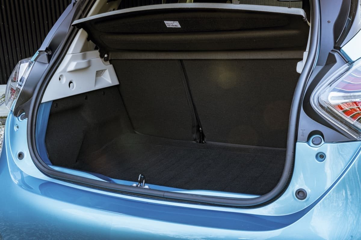 Renault Zoe review 2020 – boot space
