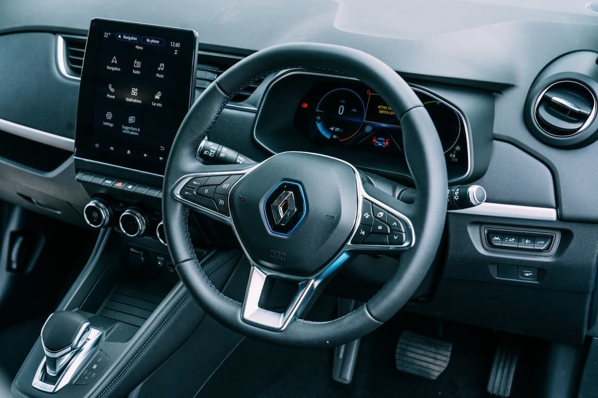 Renault Zoe review 2020 – dashboard