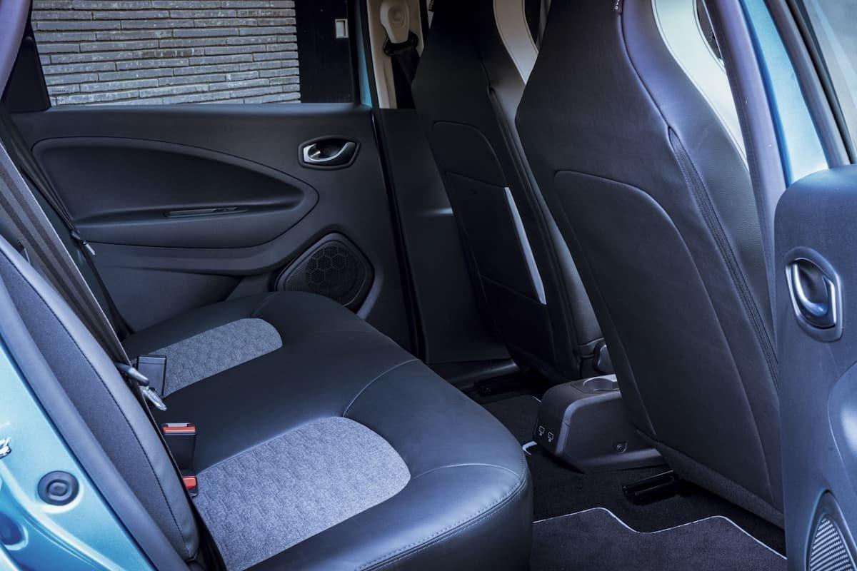 Renault Zoe review 2020 – rear seats