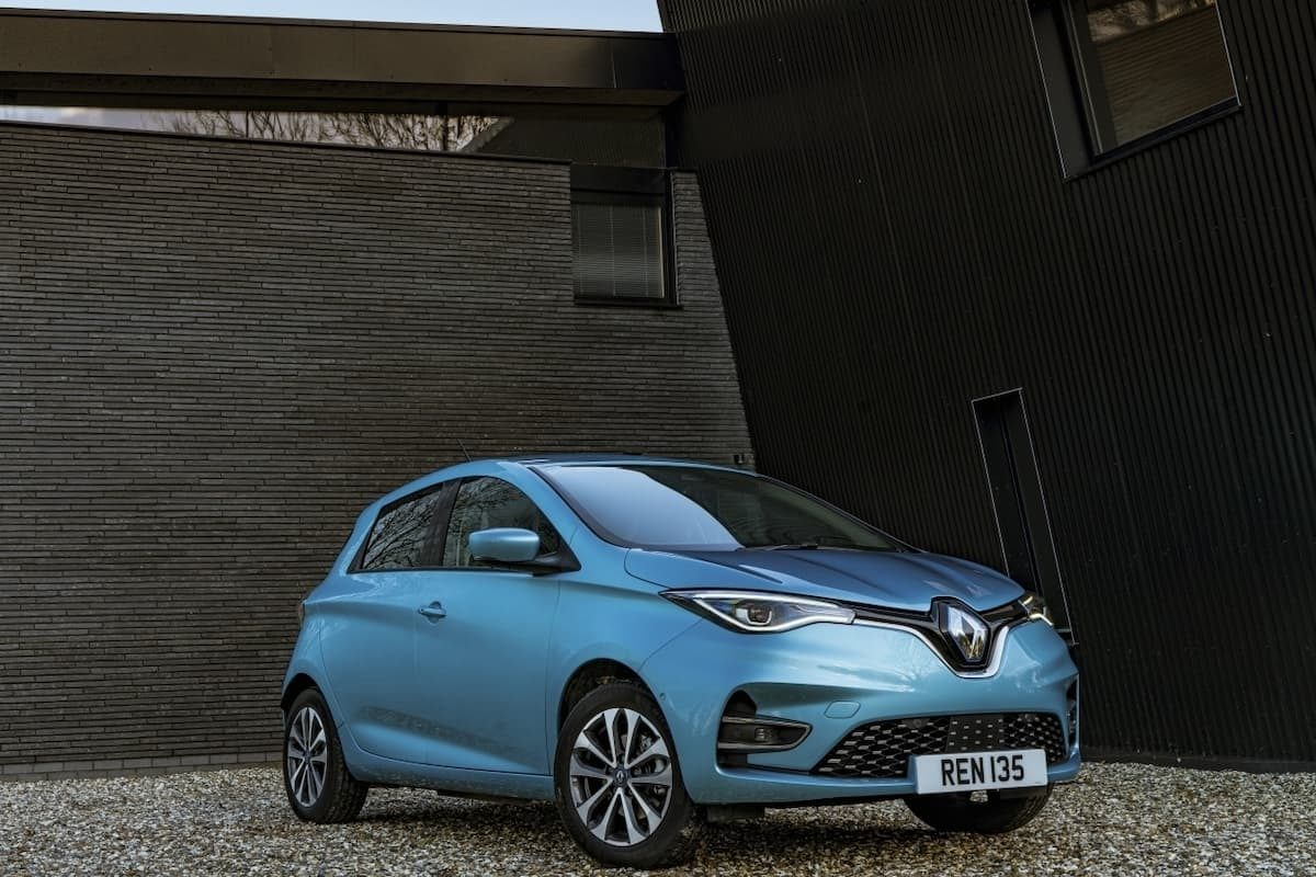Renault Zoe review 2020 – front