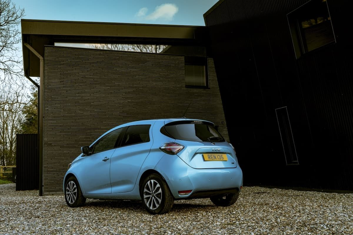Renault Zoe review 2020 – rear