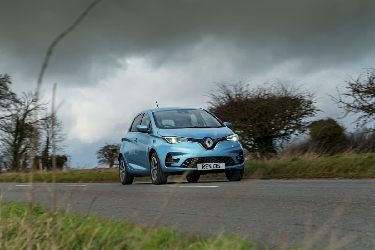 Renault Zoe road test 2020 – front