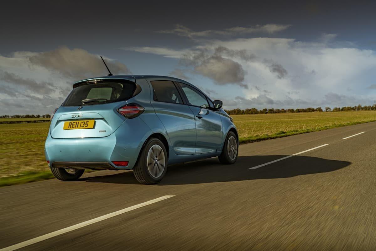 Renault Zoe road test 2020 – rear