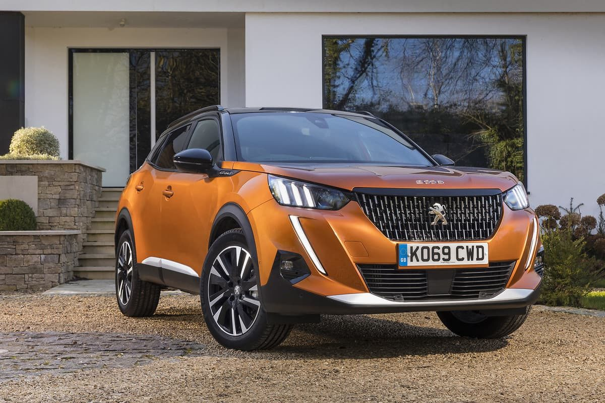 2020 Peugeot 2008 review - front