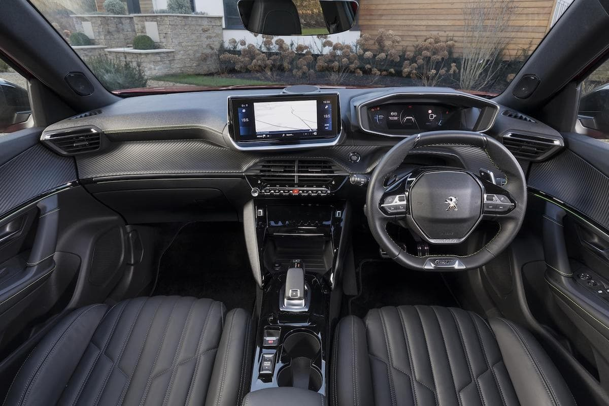 2020 Peugeot 2008 review - dashboard