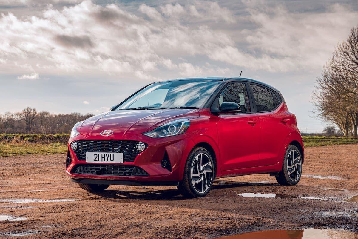 2020 Hyundai i10 review - front