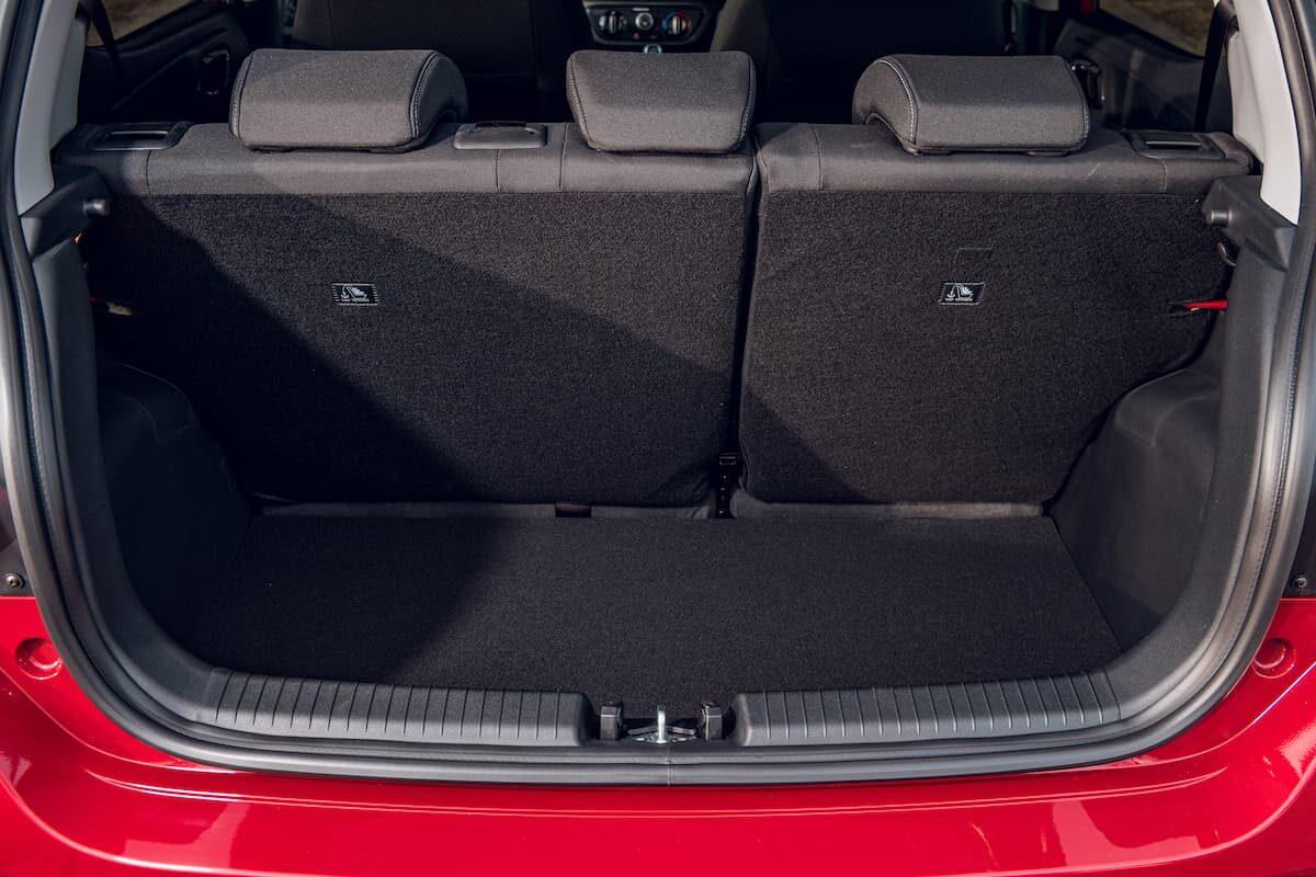 2020 Hyundai i10 review - boot space