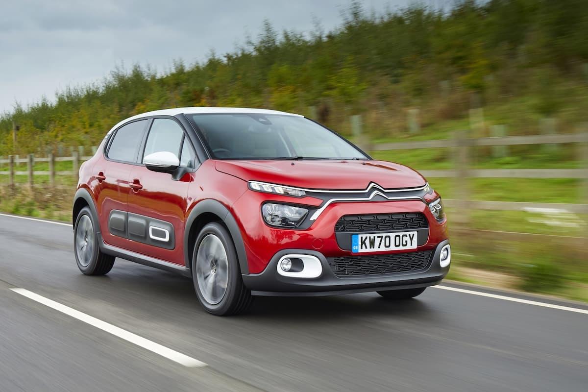Citroën C3 (2020) - front view