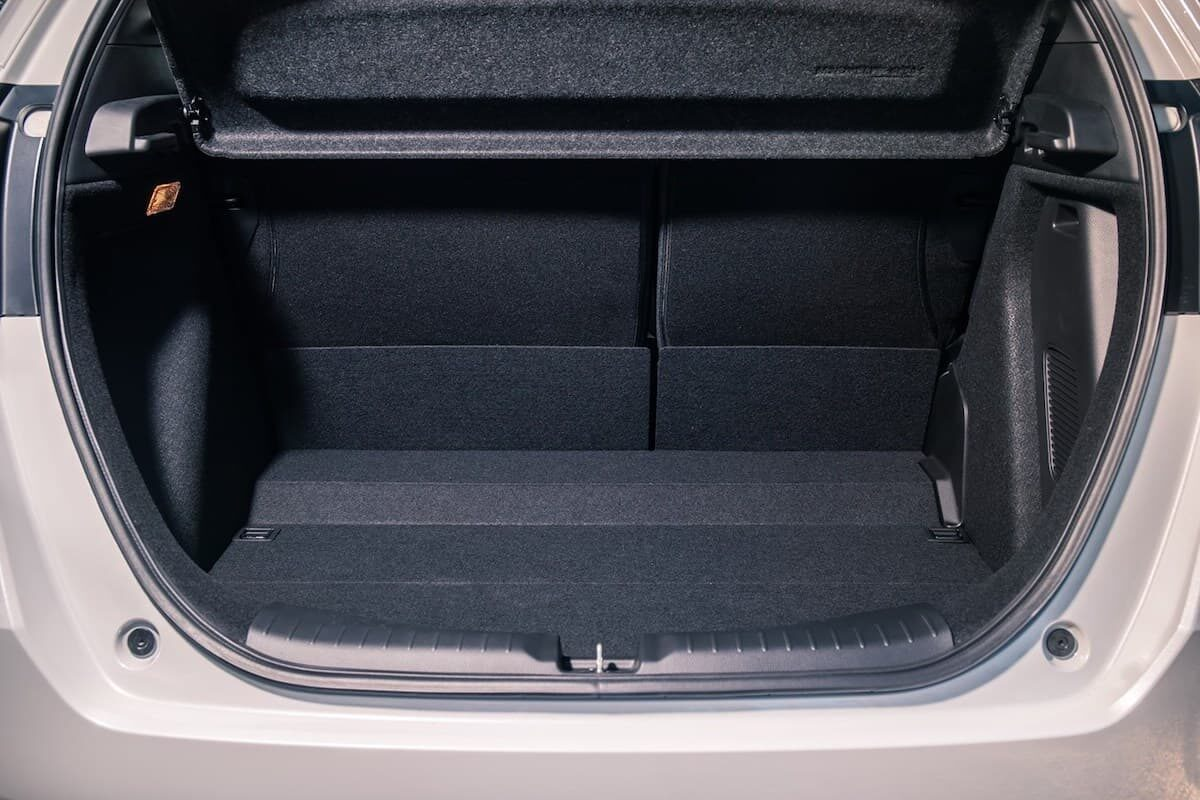 2021 Honda Jazz review - boot space