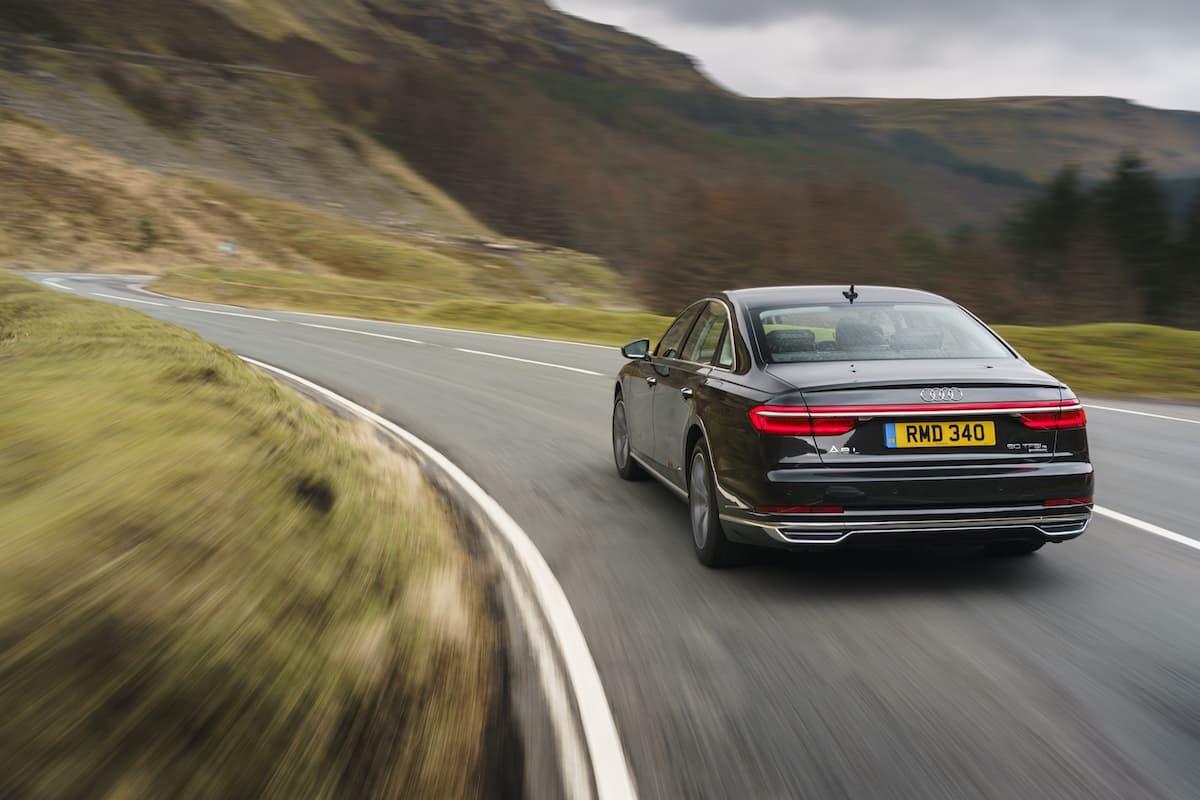 Audi A8 (2018 onwards) – rear