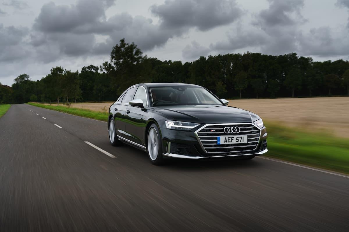 Audi S8 (2018 onwards) – front