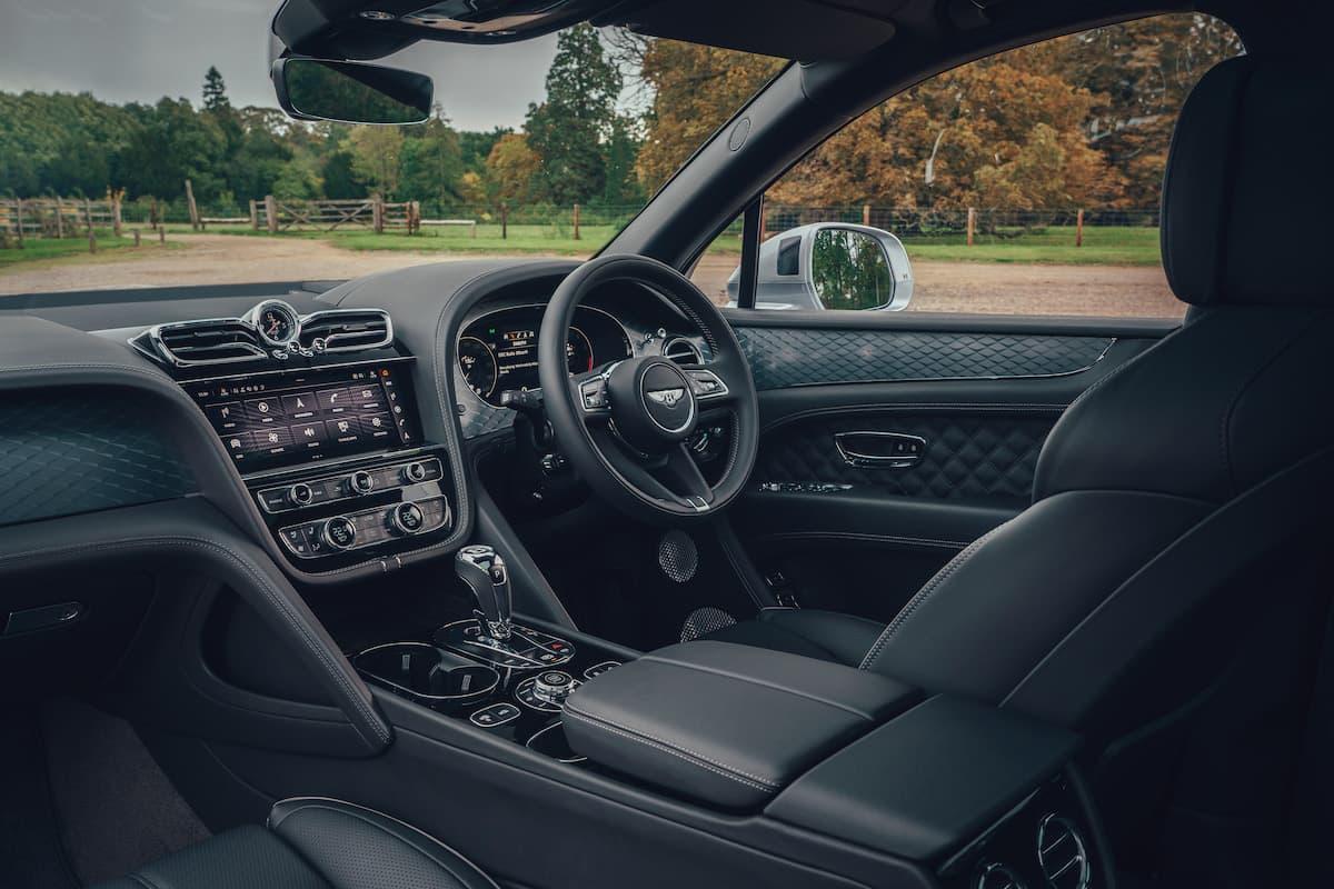 Bentley Bentayga (2020 onwards) - interior