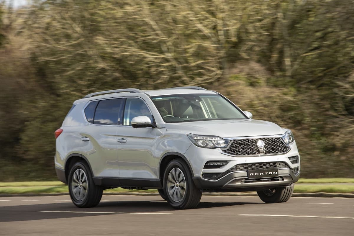SsangYong Rexton (2020) – front view