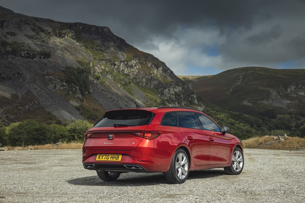 SEAT Leon estate (2020 onwards) - rear