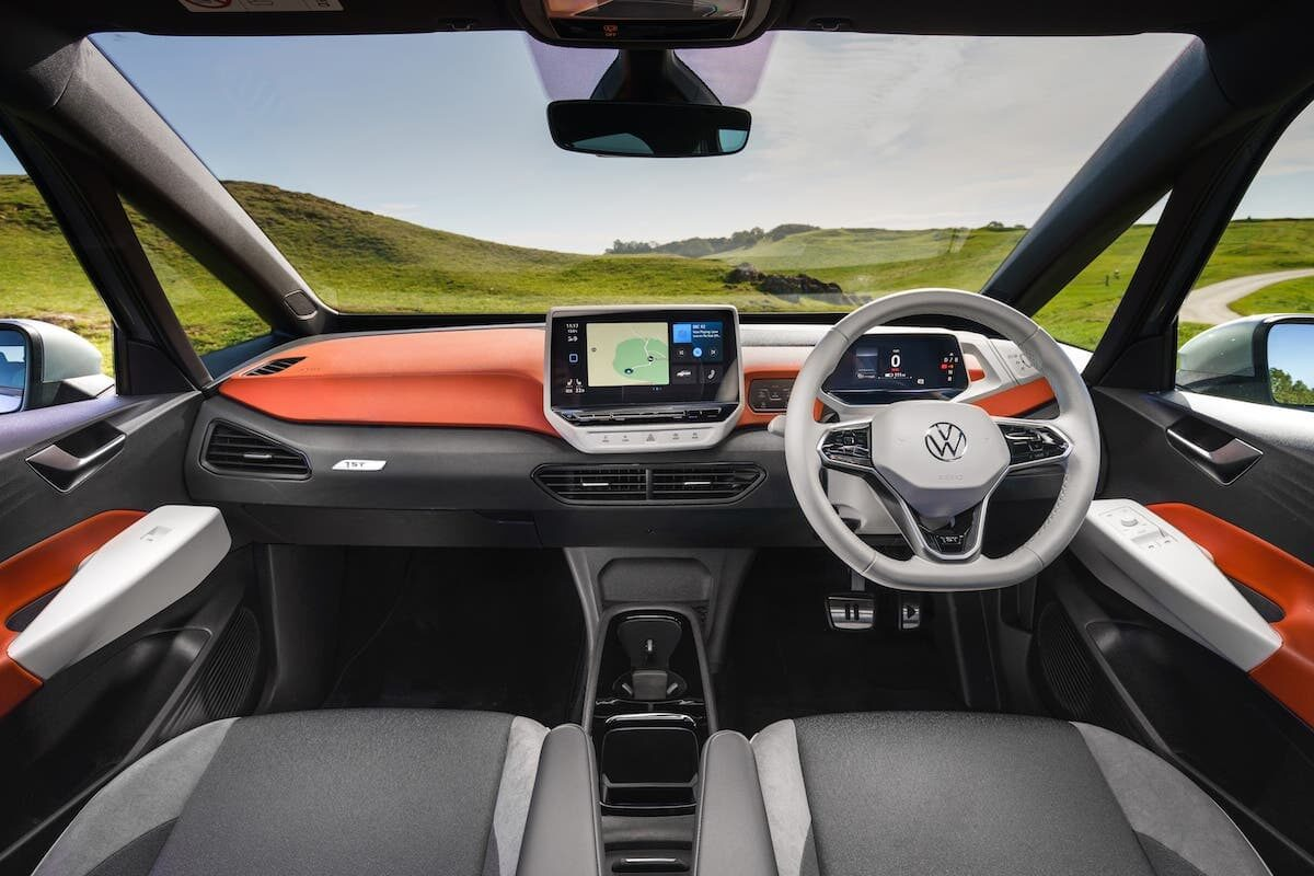 Volkswagen ID.3 review - interior and dashboard
