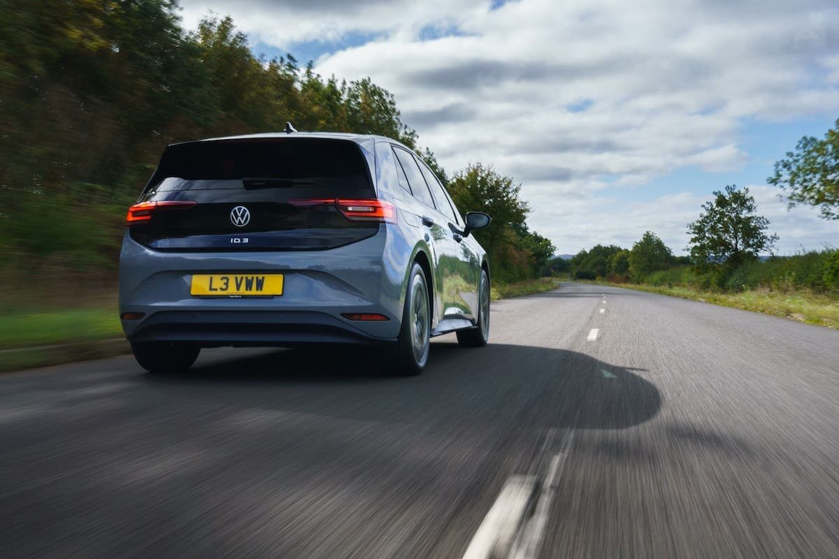 Volkswagen ID.3 (2020 onwards) road test – rear