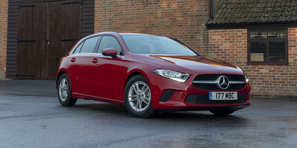 Mercedes-Benz A-Class hatch – Britain's best-selling cars of 2020